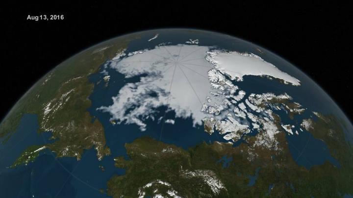 Visualization of Sea Ice