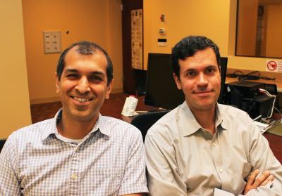 Jamil Bhanji, Mauricio Delgado, Rutgers University