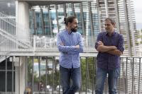 Pedro Gonzalez and Toni Gabaldon, Founders of Microomics