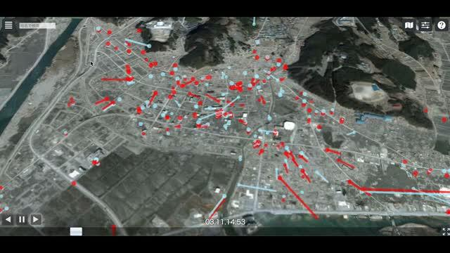 Mapping Project Tracks the Last  Moments of the Victims of 2011 Tsunami