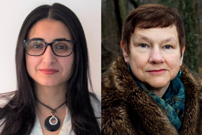 Khedidja Hedna and Margda Waern