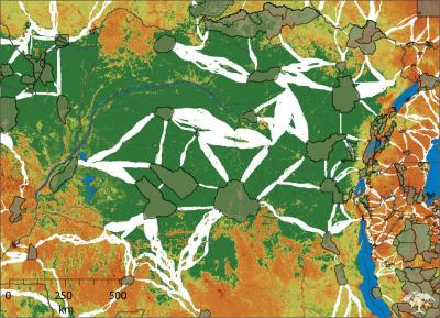New Woods Hole Research Center Maps of Habitat Corridors in the Tropics
