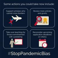 Actions to #StopPandemicBias
