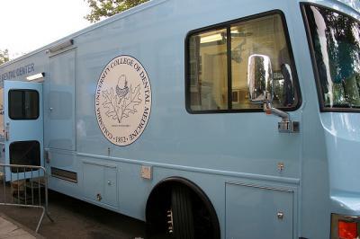 Community DentCare's Mobile Dental Center Van
