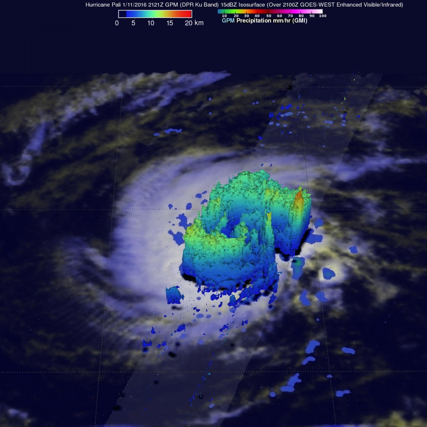 GPM 3-D Image of Pali