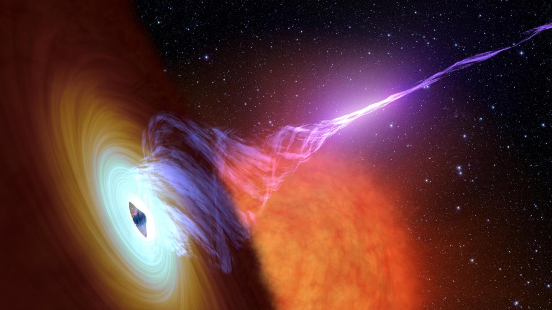 Black Hole with a Jet