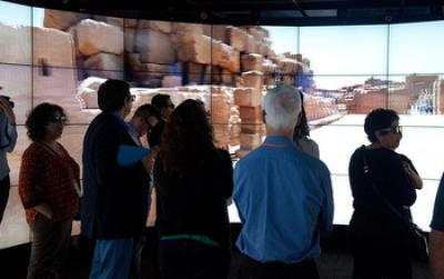 researchers lookiResearchers Looking at 3-D Images of Ancient Egyptng at 3-D images of ancient Egypt