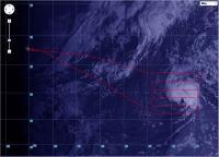 Flight Path of Global Hawk Over Humberto