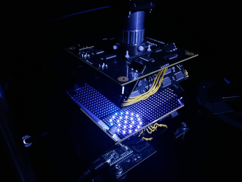 Microscope Light Pattern