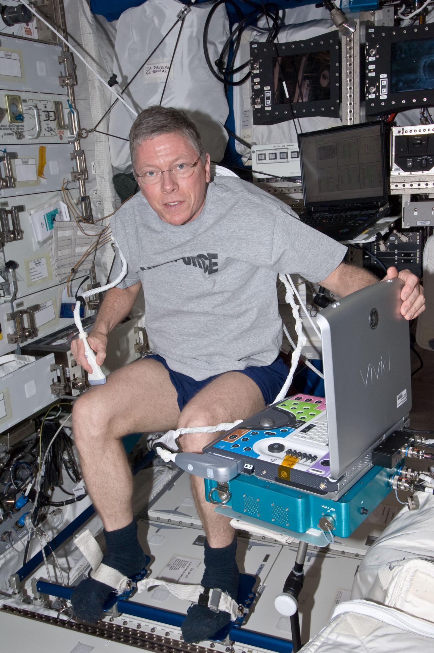 Mike Fossum, NASA