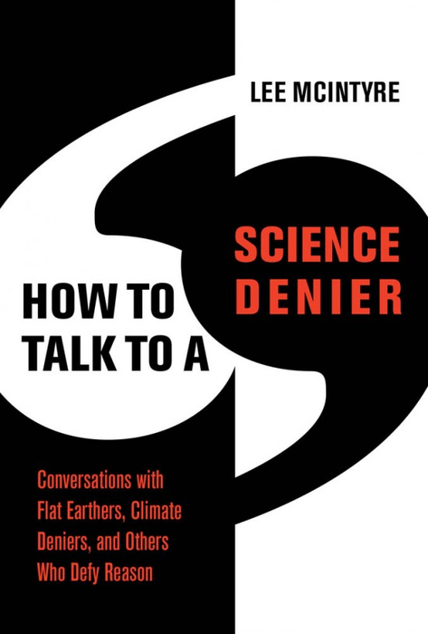 """Book Cover art to """"How to Talk to a Science Denier"""""""