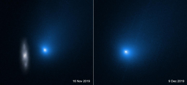 Comet 2I/Borisov as Imaged by Hubble