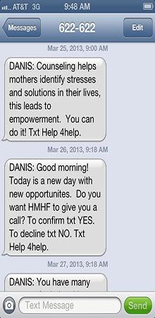 Sample Text Message
