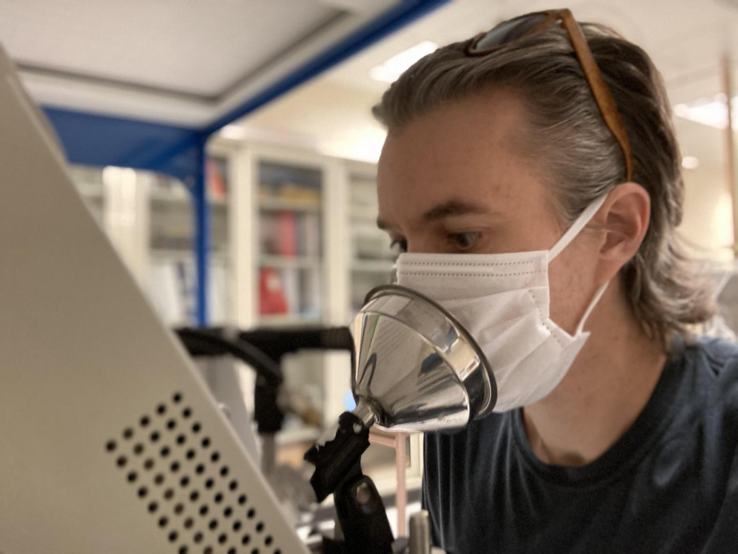 Comparing Face Coverings in Controlling Expired Particles Surgical, N95 Masks Block Most Particles