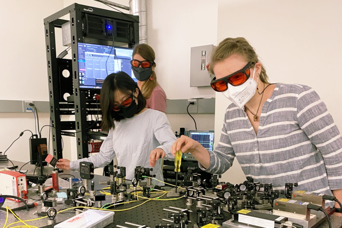 The Quantum Biology Center at UCLA trains students and early-career scientists by fostering research collaborations and promoting scientific networking.