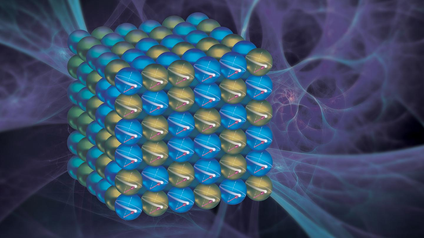 Electron Spin in a Cobalt-Iron Alloy