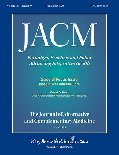 The Journal of Alternative and Complementary Medicine.