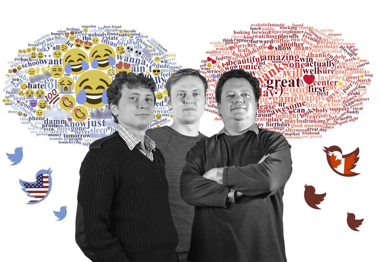 McMaster Researchers Bryor Snefjella, Daniel Schmidtke and Victor Kuperman