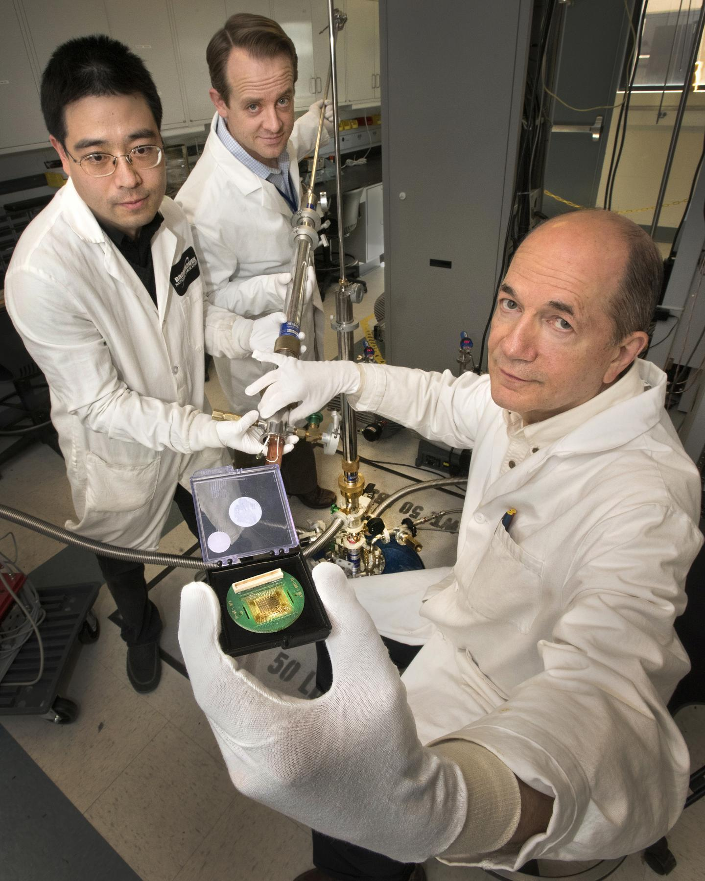 Research Team with Copper-Oxide Film