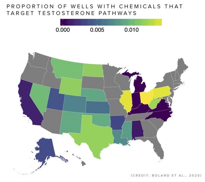 Hydraulic Fracking and Testosterone