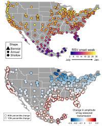 RSV Epidemic Maps