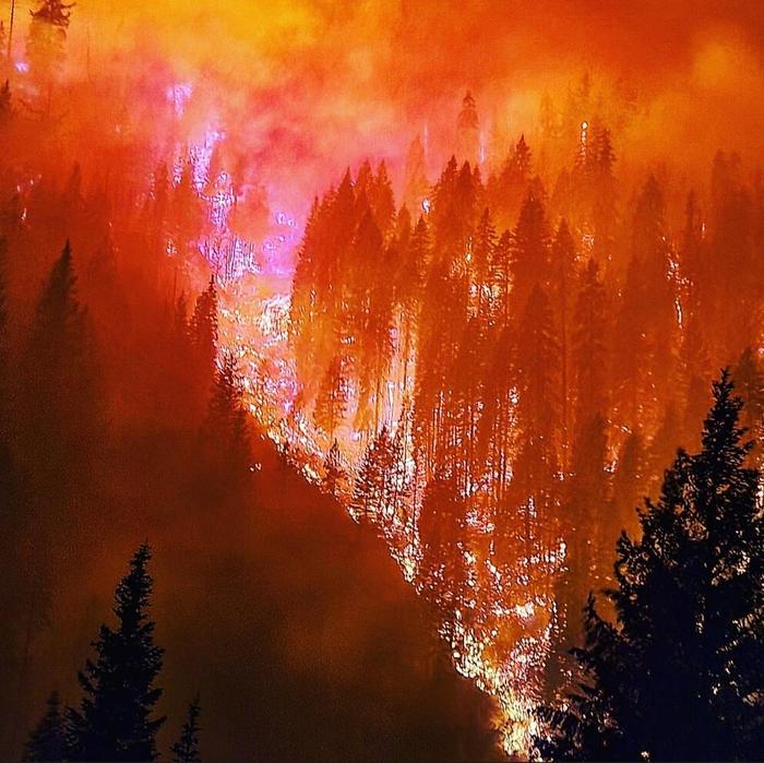 river Complex fire