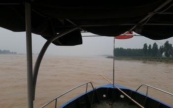 Researchers' view of the Famous Yellow River.