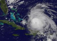 GOES-East image of Maria