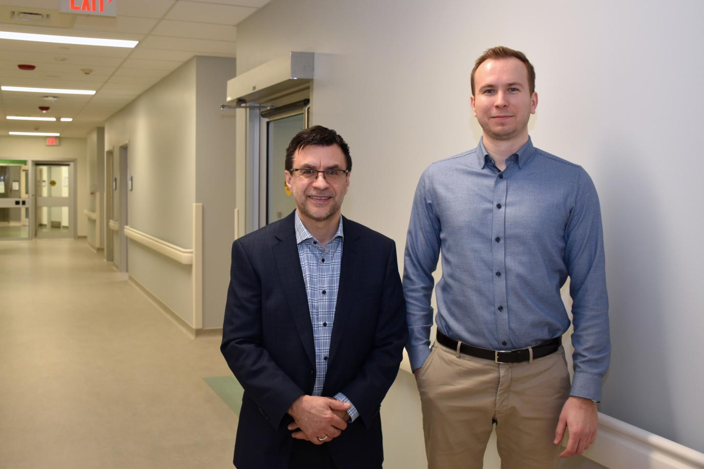 Drs. Don Richardson and Anthony Nazarov, Lawson Health Research Institute