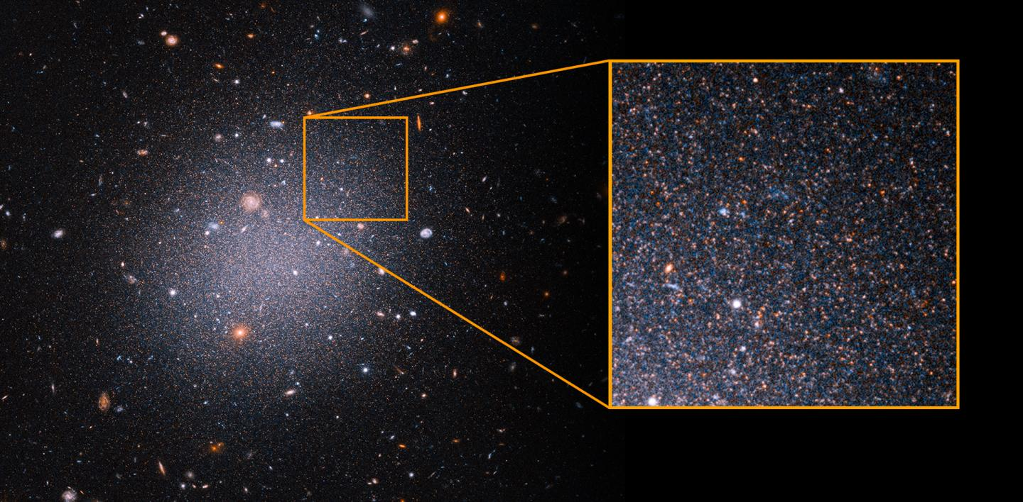 Aging, Red Stars in Galaxy NGC 1052-DF2
