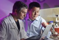 Dr. Baran Sumer and Dr. Jinming Gao, UT Southwestern Medical Center