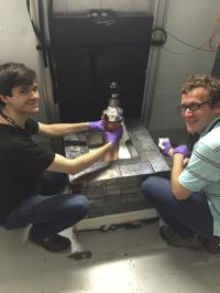World's Smallest Neutrino Detector