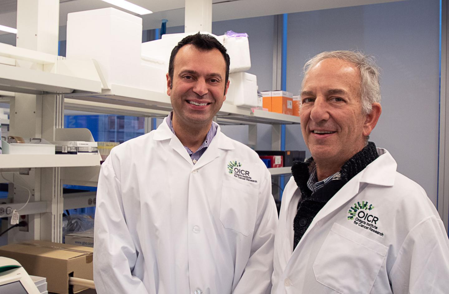 Drs. Faiyaz Notta and Steven Gallinger, Ontario Institute for Cancer Research