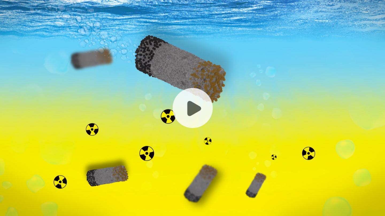 Microrobots Clean up Radioactive Waste (Video)