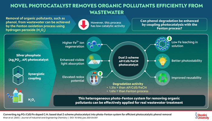 Chemical Process to Remove Organic Pollutants from Water