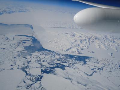 NASA's MABEL Flying Over Greenland
