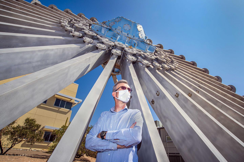 Sandia National Laboratories  physicist Aidan Thompson,