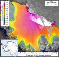Ice Flow Velocities
