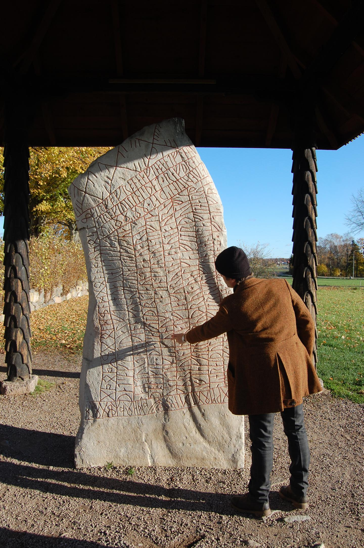 Per Holmberg and the Rök Runestone