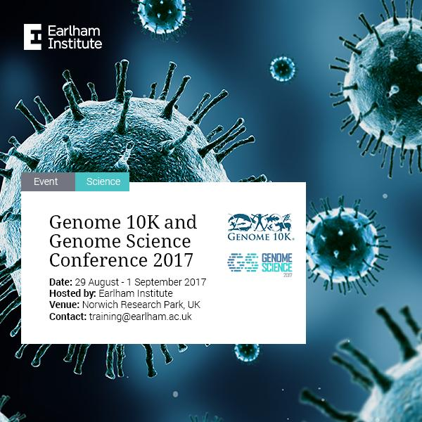Genome 10K and Genome Science at Earlham Institute
