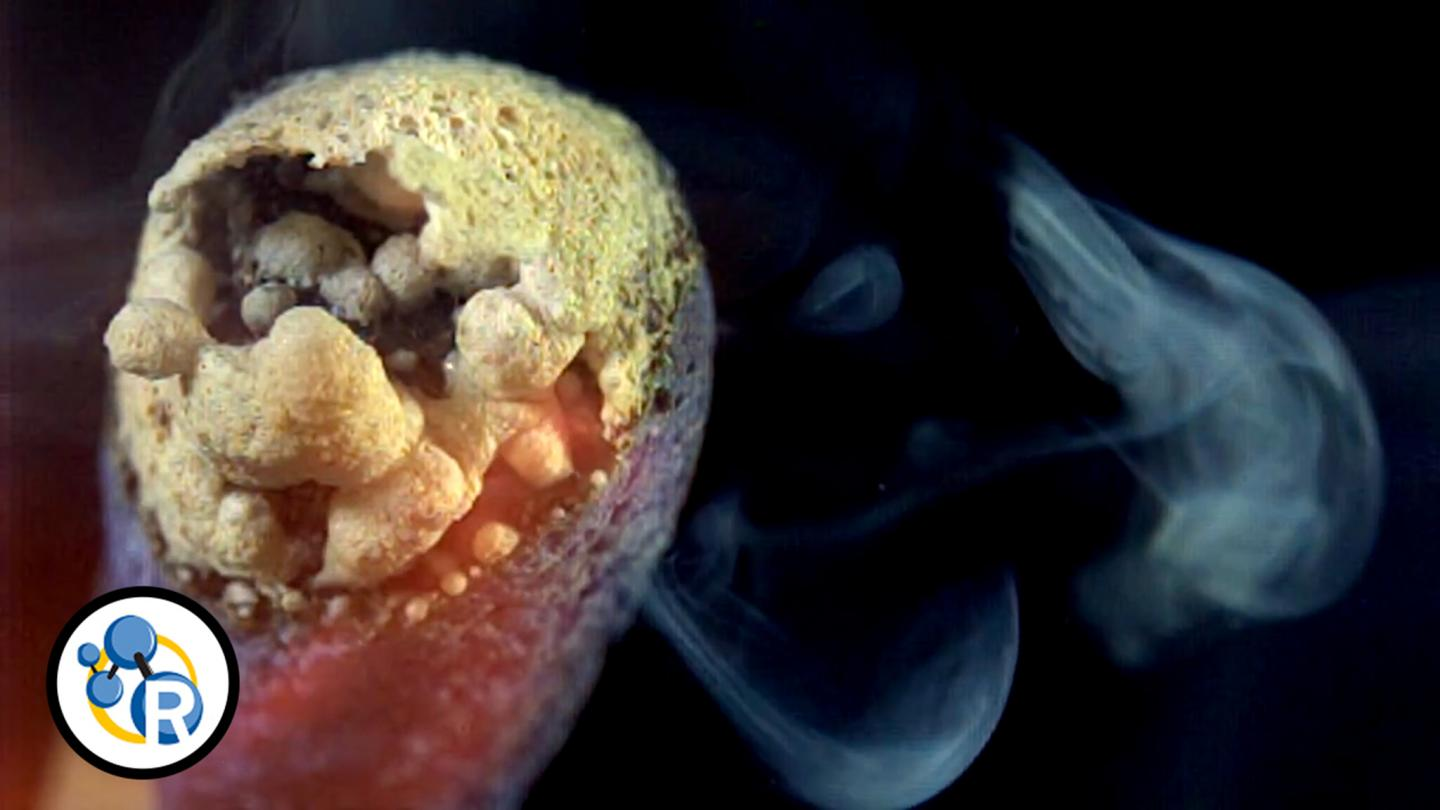 Watch the Chemistry of a Burning Match in Ultra-Slow Motion (Video)