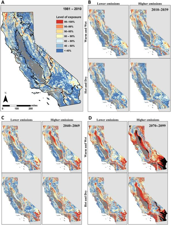 Climate Projections and California Vegetation