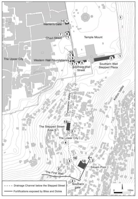 Excavation Sites