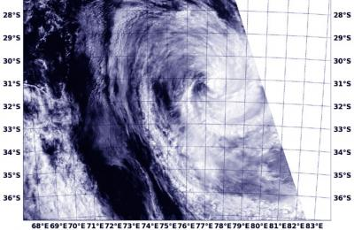 Satellite Image of Colin