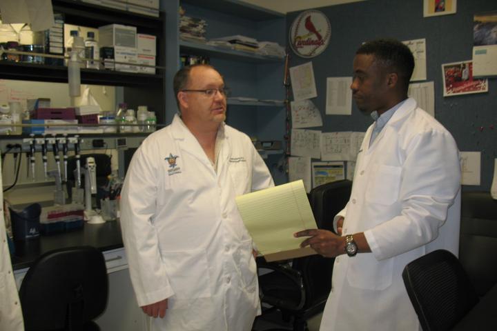 Thomas Burris, Ph.D., and Colin Flaveny, Ph.D., Saint Louis University
