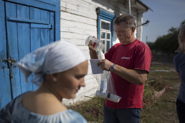 Milk Contamination in Ukraine