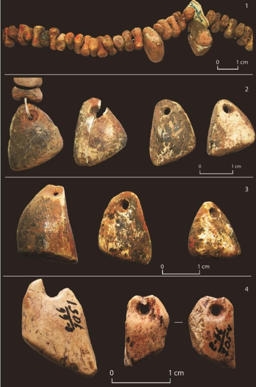 Bone Jewelry Found at Sungir