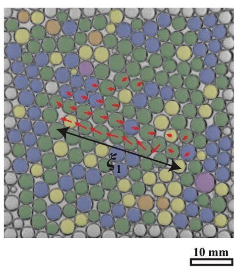 Rearrangements of monodisperse foams
