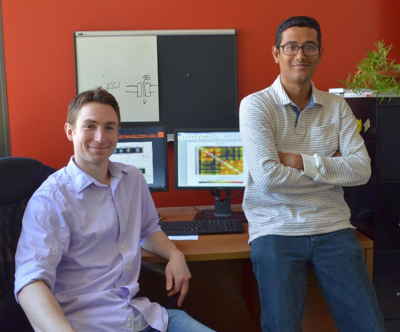 Brian Lewandowski, Ph.D., and Sunil Sukumaran, Ph.D., Monell Center