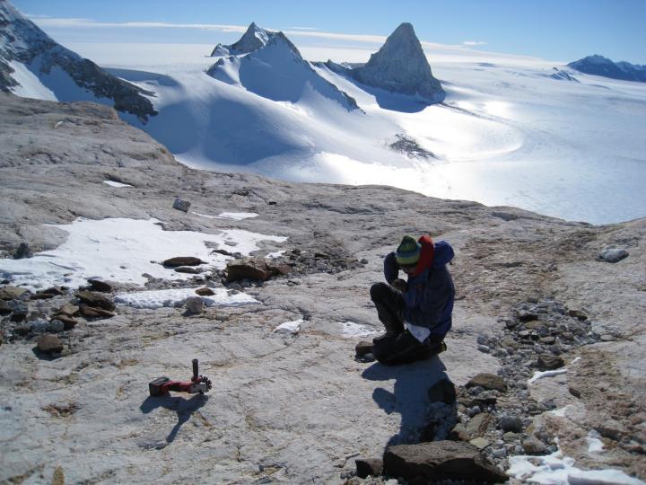 Rocks in the West Antarctic Landscape